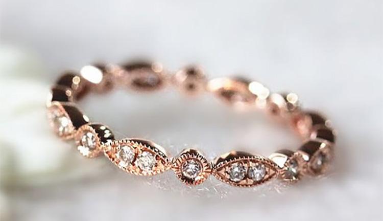 boho wedding ring ideas chwv