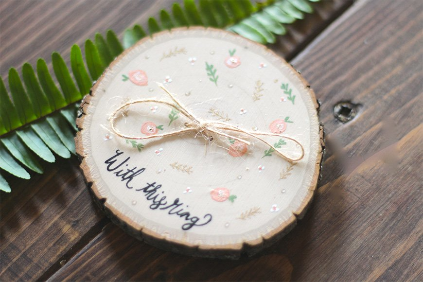 Selecting the perfect bohemian style wedding ring - Fern & Pine Co | CHWV