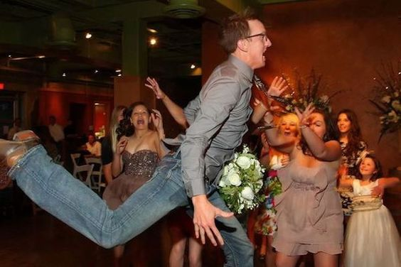 The 15 Best Wedding Bouquet Catching Fails | CHWV