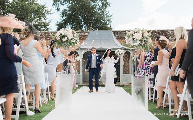 An Outdoor Wedding Ceremony At London S Hunt Club: Essex Wedding Venue