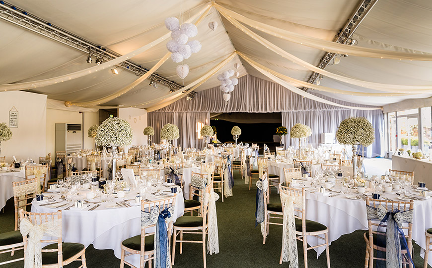 6 Marquee Wedding Venues That Really Stand Out - Braxted Park | CHWV