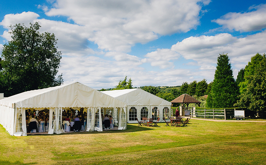 6 Marquee Wedding Venues That Really Stand Out - Brewerstreet Farmhouse | CHWV