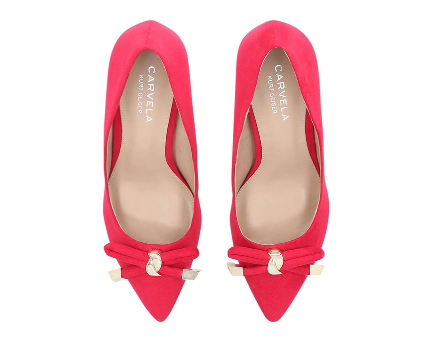 Wedding Ideas By Colour: Bright Wedding Shoes - In the pink | CHWV