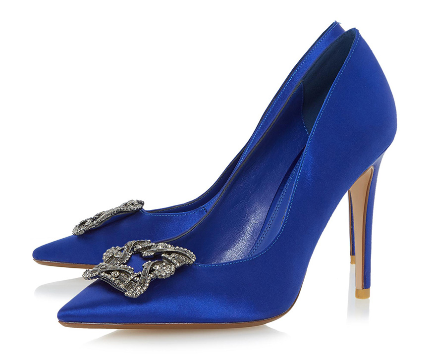 Wedding Ideas By Colour: Bright Wedding Shoes - All about blues | CHWV