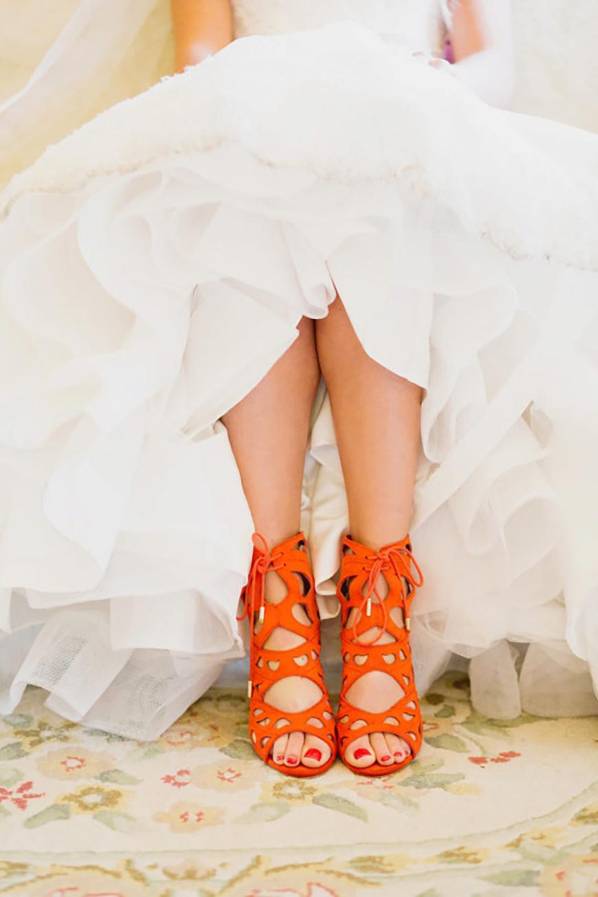Wedding Ideas By Colour: Bright Wedding Shoes - Citrus brights | CHWV