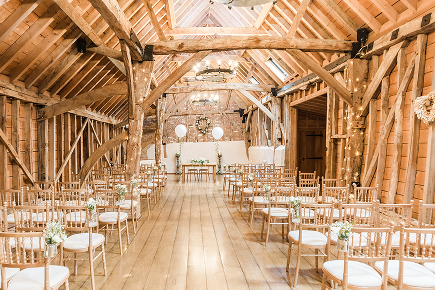 11 Budget-Friendly Barn Wedding Venues - Bassmead Manor Barns | CHWV