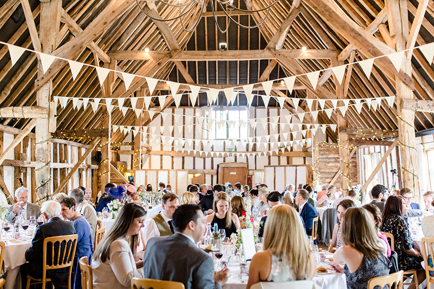 11 Budget-Friendly Barn Wedding Venues - Clock Barn | CHWV