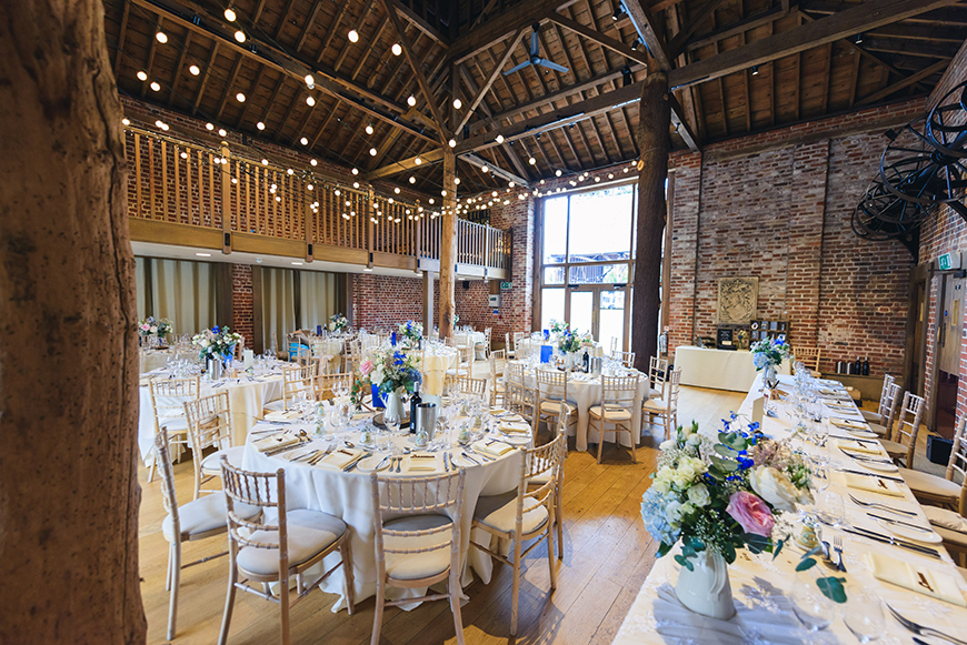 11 Budget-Friendly Barn Wedding Venues - Gaynes Park | CHWV