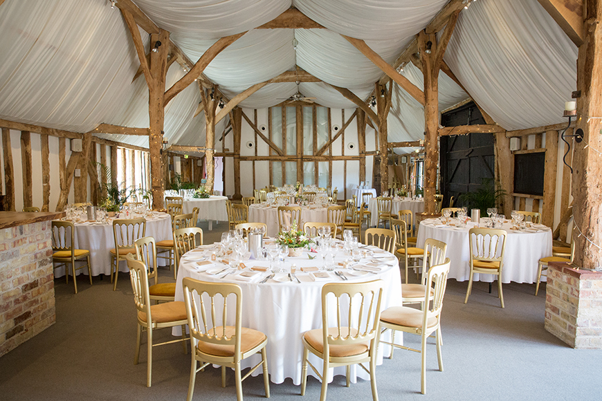 11 Budget-Friendly Barn Wedding Venues - South Farm | CHWV