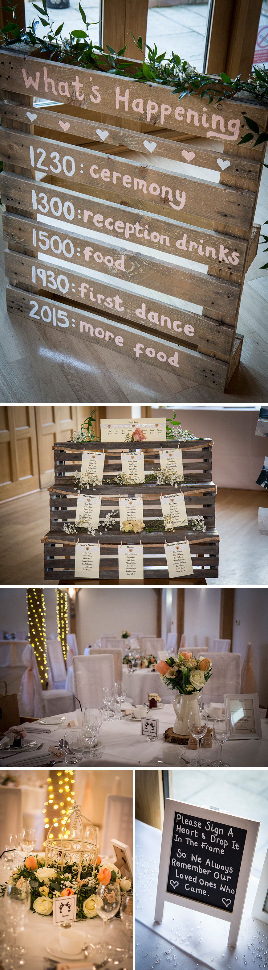 Real Wedding - Caroline and Christopher's Rustic Country Wedding at Rivervale Barn | CHWV