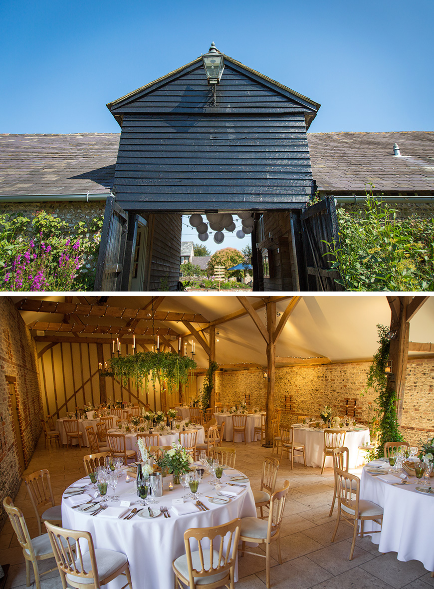 Real Wedding - Charlotte and Dom's Delightful Summer Wedding at Upwaltham Barns