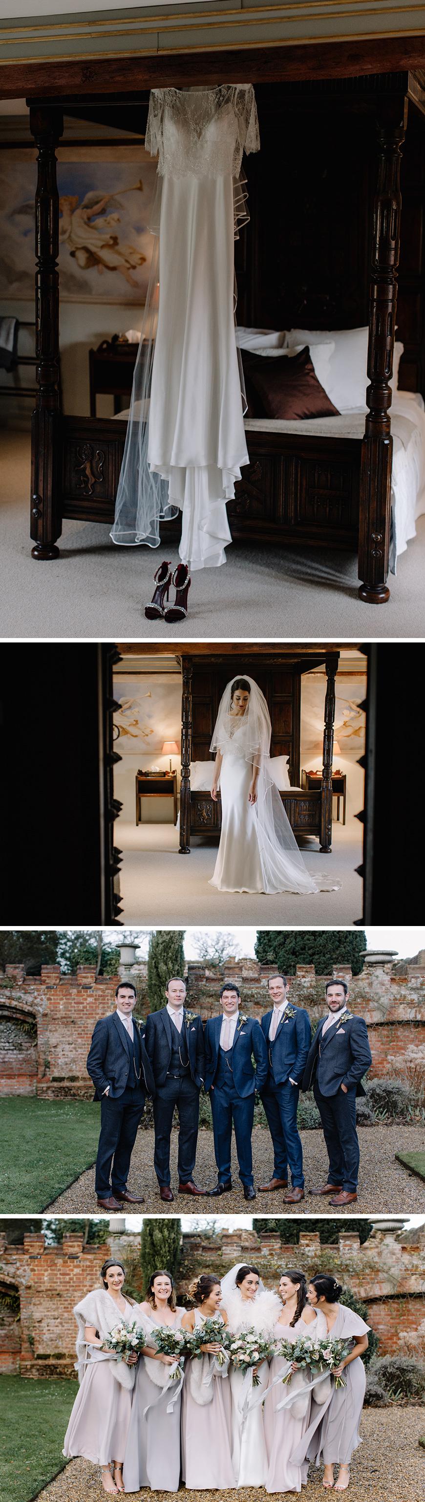 Real Wedding - Charlotte and Gareth's Romantic Winter Wedding at Oxnead Hall | CHWV