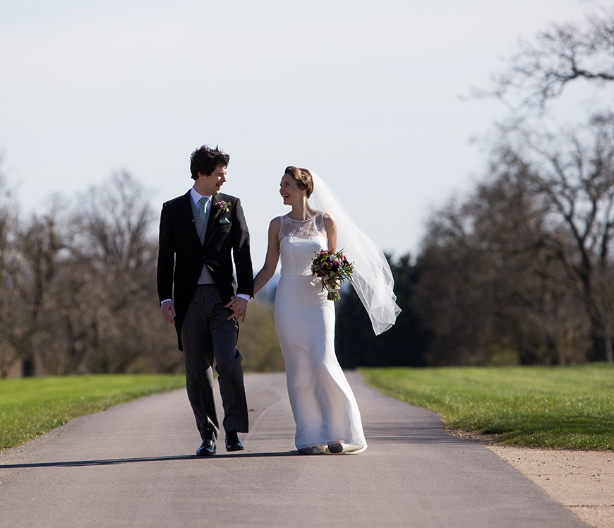 Real Wedding - Claire and Jonathan's Elegant Spring Wedding at Bassmead Manor Barns | CHWV
