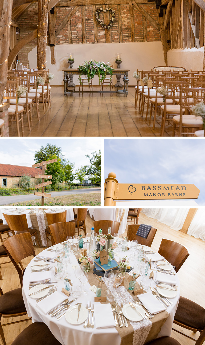 Real Wedding - Clare and Craig's Rustic Summer Wedding At Bassmead Manor Barns | CHWV