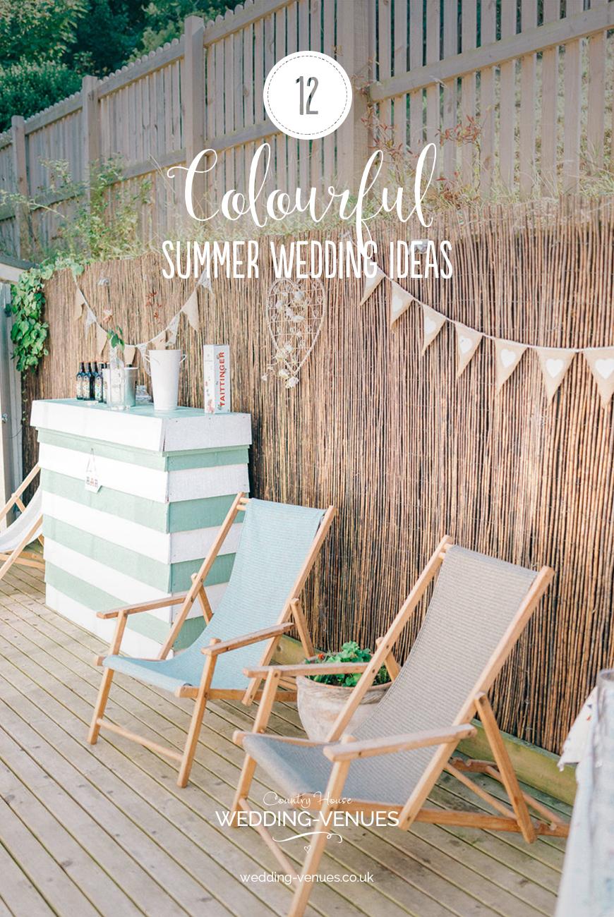 12 Colourful Summer Wedding Ideas | CHWV