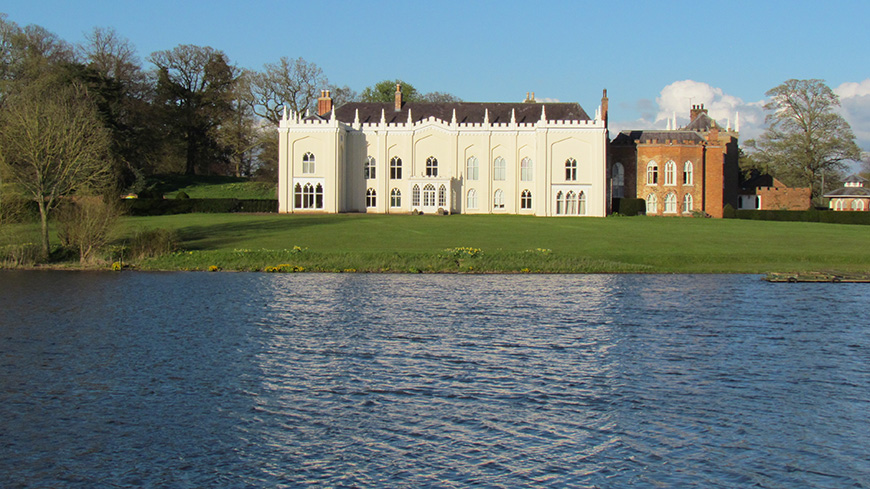 11 Unique Wedding Venues You Won't Want To Miss - Combermere Abbey | CHWV