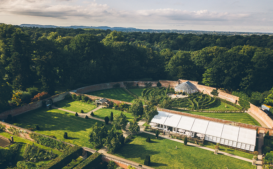9 Unusual Wedding Venues For A Unique Day - Combermere Abbey   CHWV