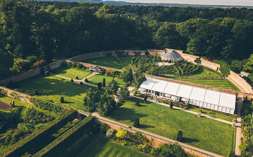 The Perfect Venues For A Festival Wedding Theme - Combermere Abbey | CHWV