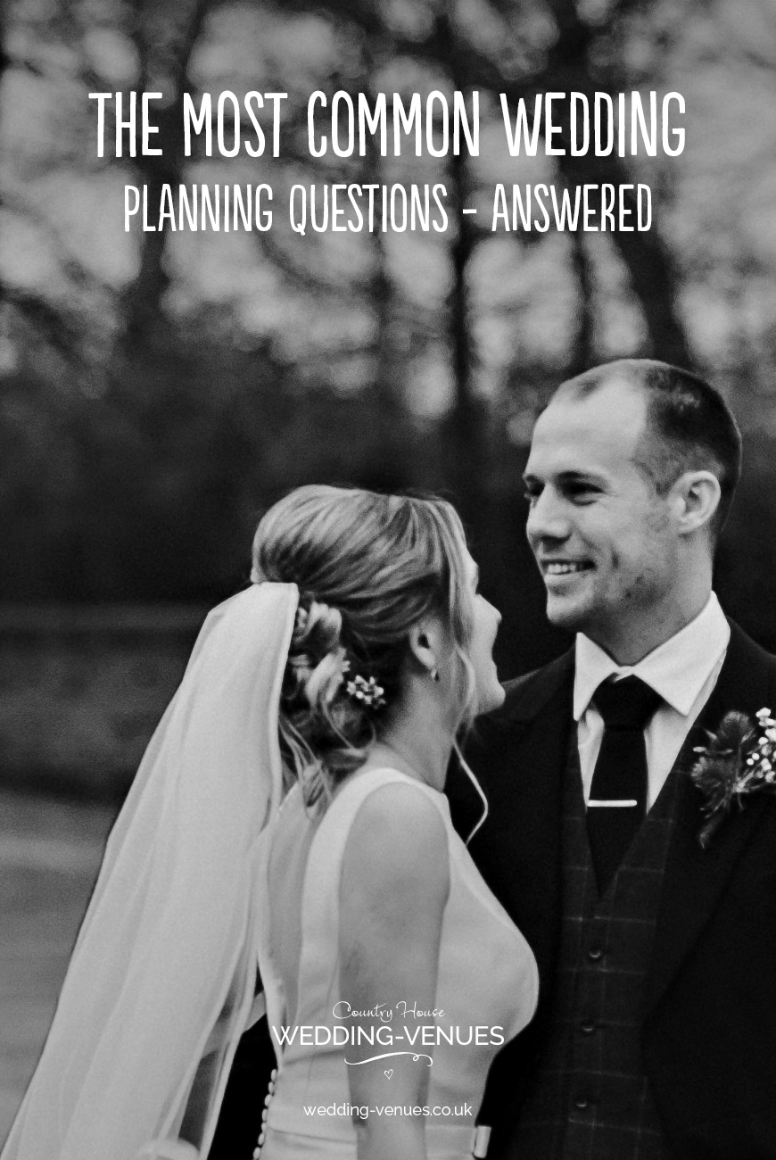 The Most Common Wedding Planning Questions - Answered | CHWV