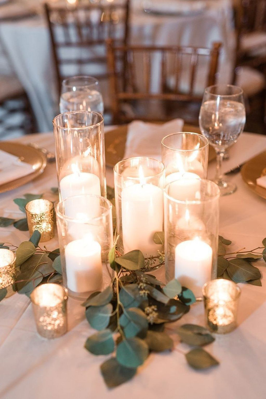 The Coolest Winter Wedding Ideas - Cosy candlelight | CHWV