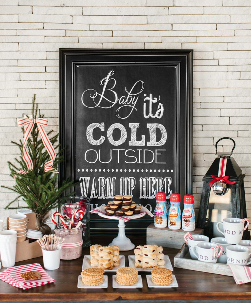 The Coolest Winter Wedding Ideas - Pimp your hot chocolate | CHWV