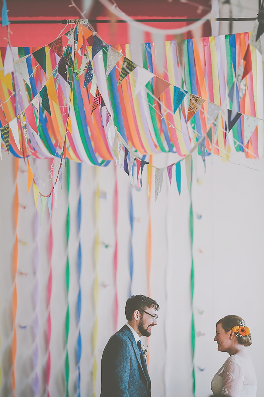 21 Cracking Easter Wedding Ideas - Bunting | CHWV