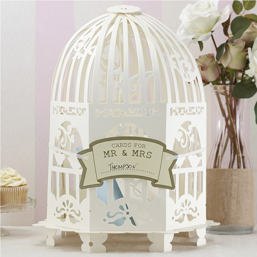 21 Cracking Easter Wedding Ideas - Birdcage centrepieces | CHWV