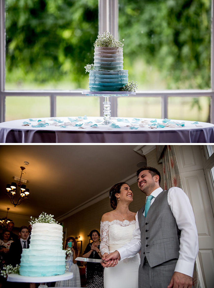 Real Wedding - Dalia and David's Idyllic Summer Wedding at Morden Hall - All about cake | CHWV