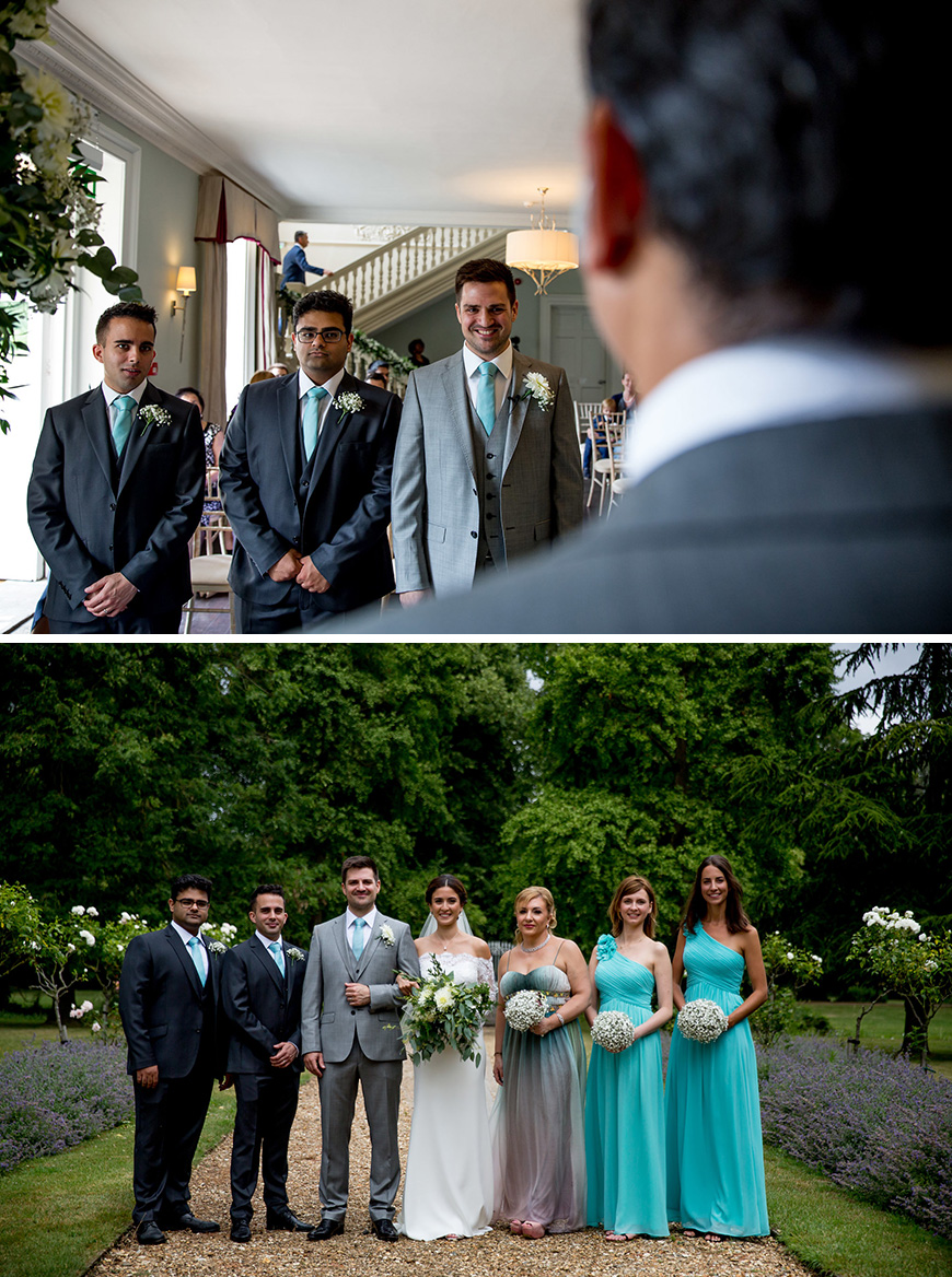 Real Wedding - Dalia and David's Idyllic Summer Wedding at Morden Hall - The groom | CHWV