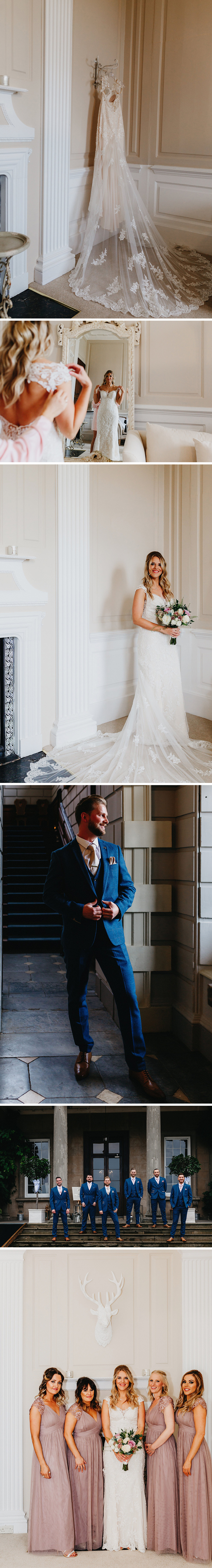 Real Wedding - Danielle and Chris's Refined Country Wedding at Davenport House | CHWV