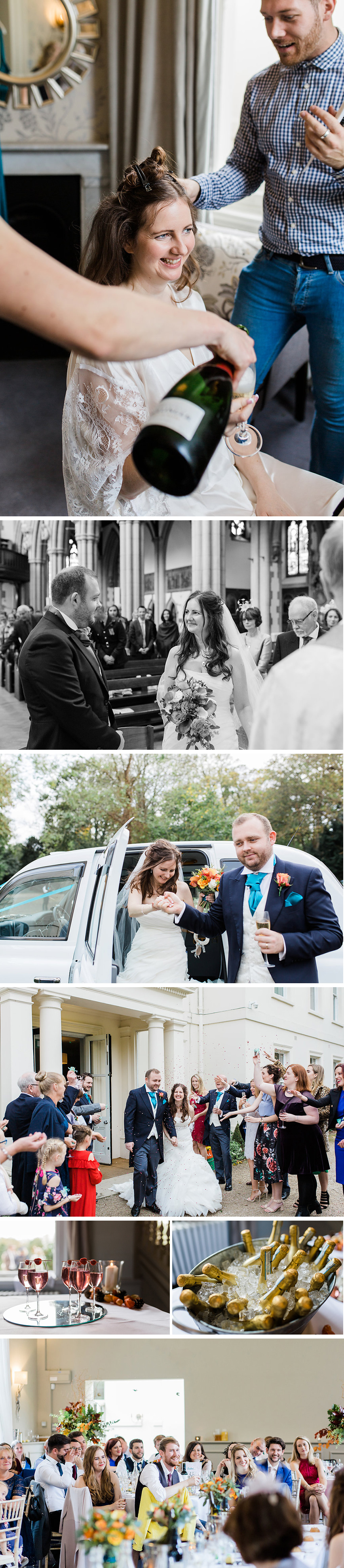 Real Wedding - Danielle & Jack's Autumnal London Wedding at Morden Hall | CHWV