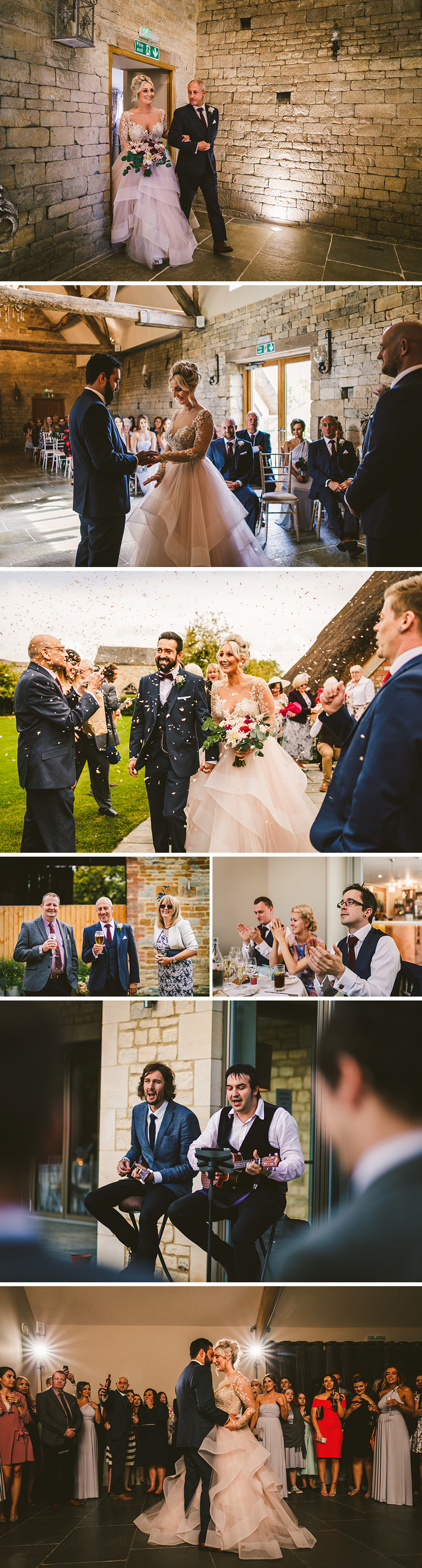 Real Wedding - Danielle and Lorance's Romantic Autumn Wedding at Blackwell Grange | CHWV