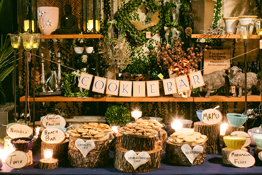 Delicious Dessert Tables You Have To See - Cookie bar   CHWV