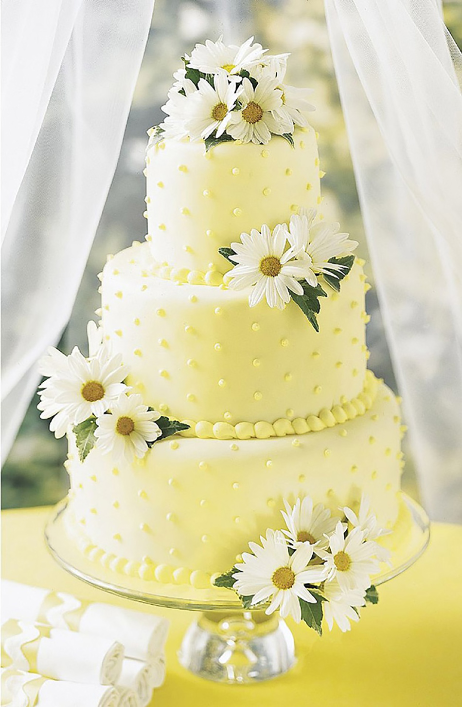 Pastel Yellow Wedding Flowers Wedding Flower Ideas Chwv