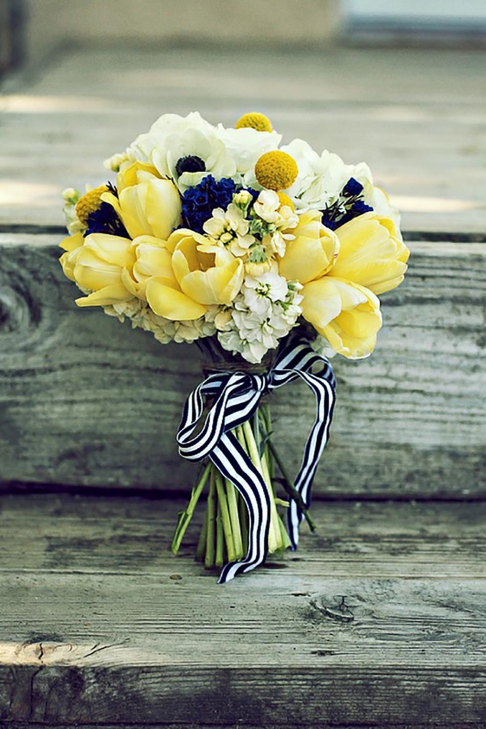 Pastel Yellow Wedding Flowers Wedding Flower Ideas Chwv