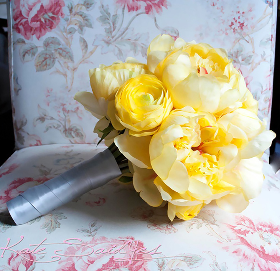 Yellow Wedding Flowers Ideas