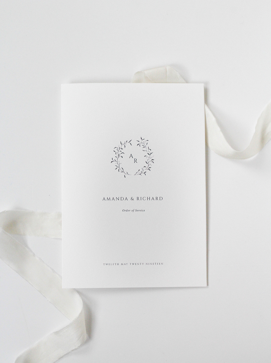 DIY Wedding Invitations - Luxury logos | CHWV