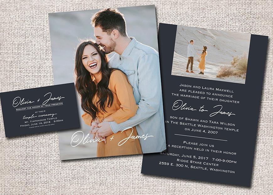 DIY Wedding Invitations - It takes two | CHWV
