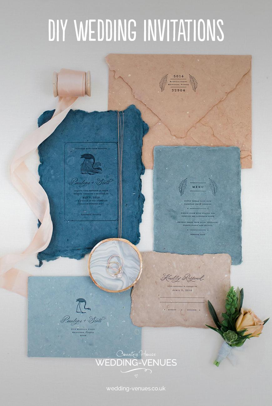 DIY Wedding Invitations | CHWV