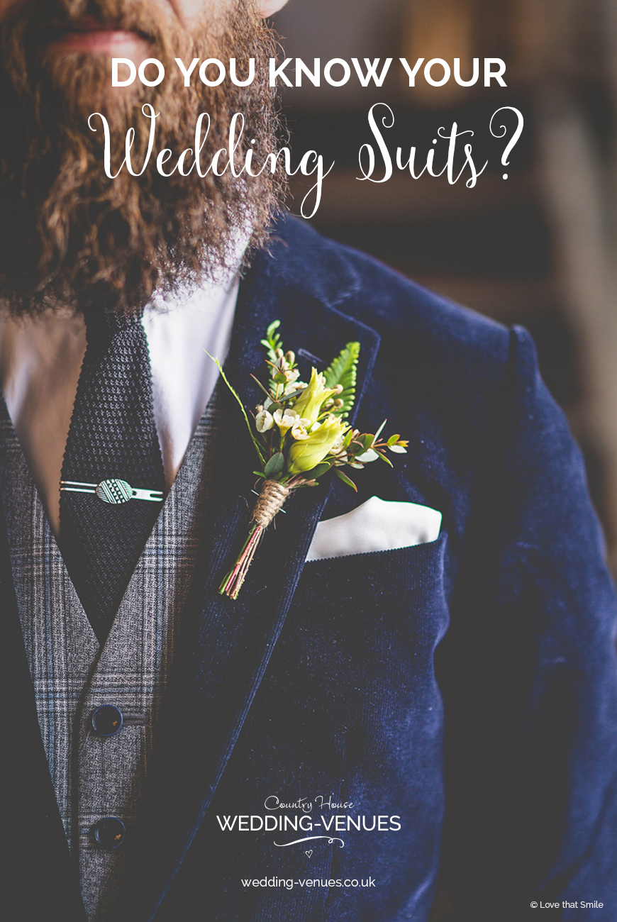 Do You Know Your Wedding Suits? | CHWV
