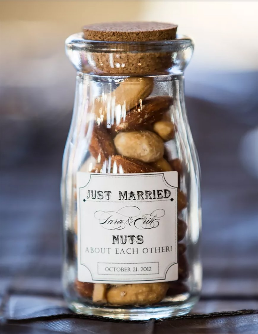 Edible Wedding Favours To Treat Your Guests - Nuts | CHWV