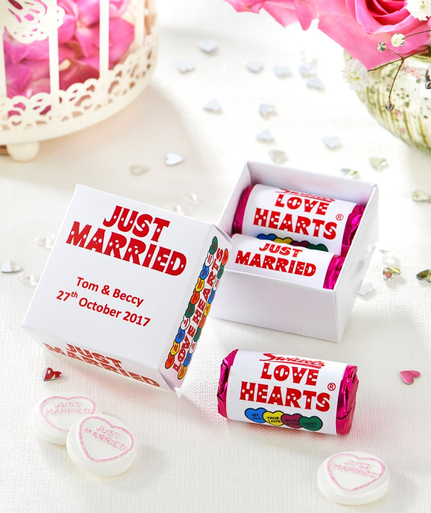 Edible Wedding Favours To Treat Your Guests - Love hearts | CHWV