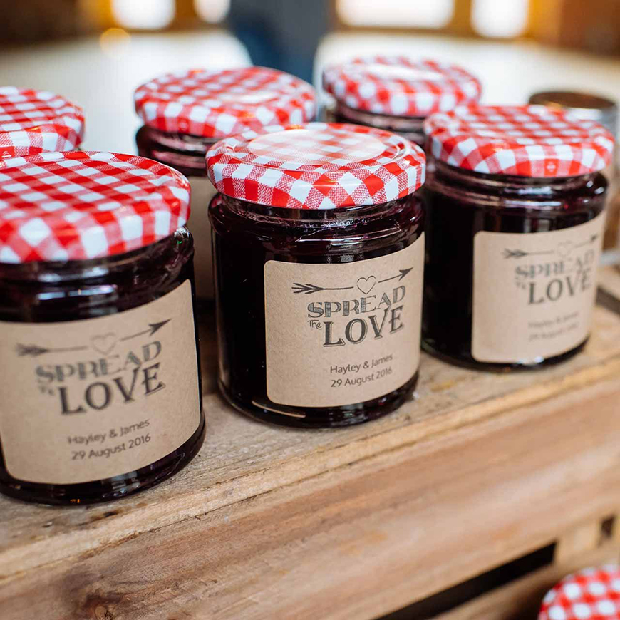 Edible Wedding Favours To Treat Your Guests - Preserves | CHWV