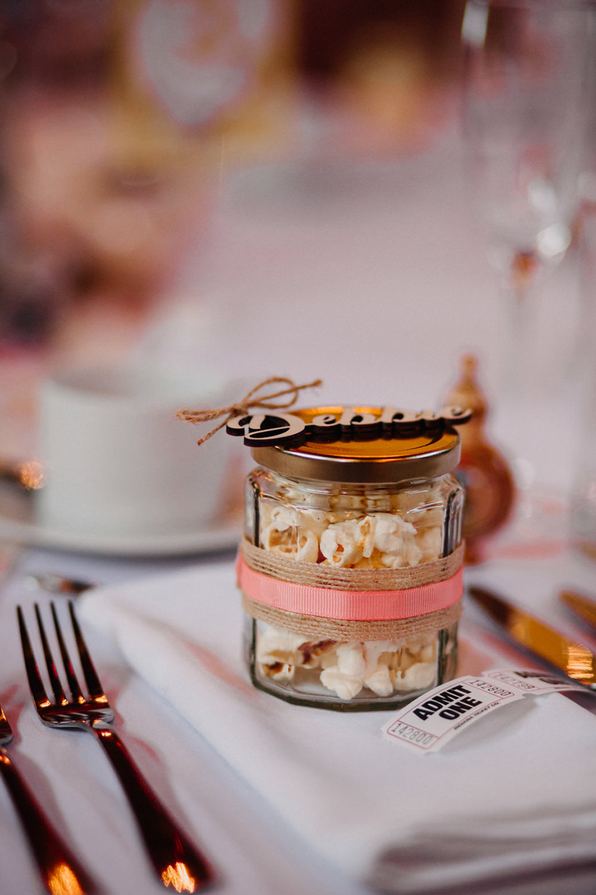 Edible Wedding Favours To Treat Your Guests - Popcorn | CHWV