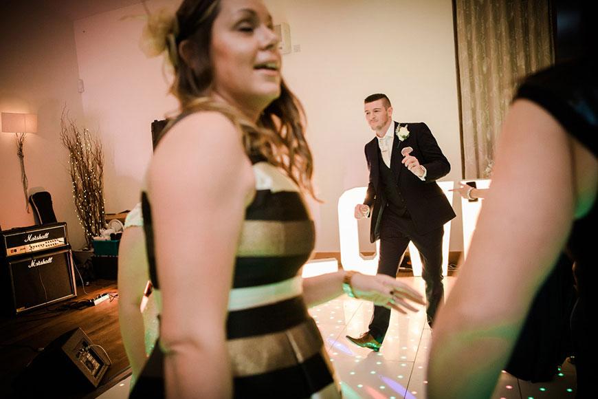 Emma and Danny at Mythe Barn - Evening reception | CHWV