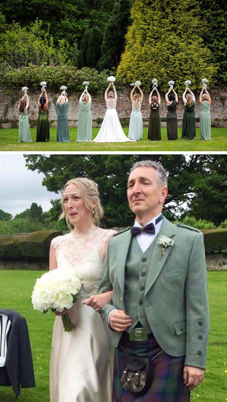 Real Wedding - Emma and Gareth's Stunning Spring Wedding At Slaugham Place | CHWV