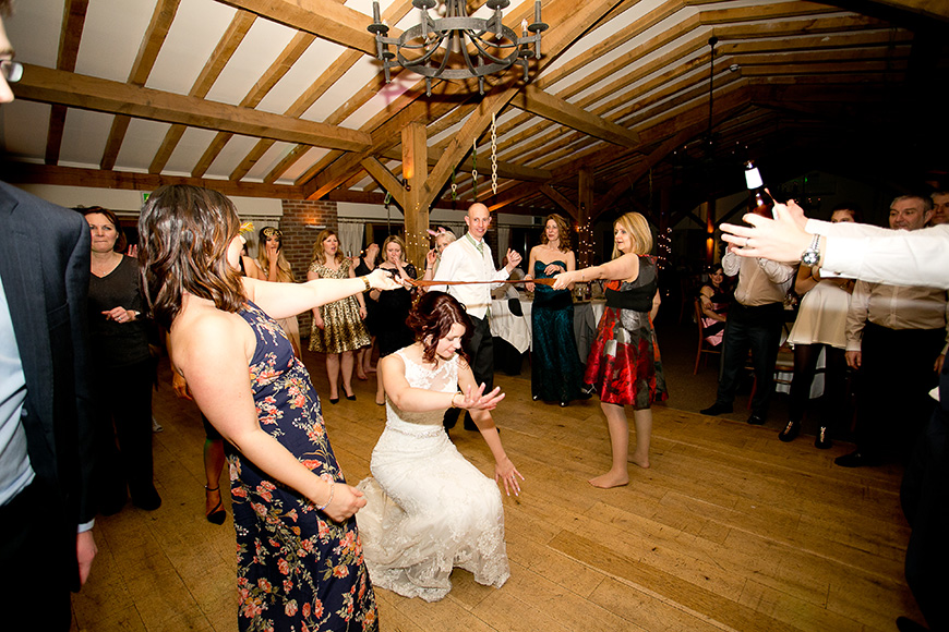 A New Zealand-Inspired Wedding at Packington Moor - Party fun | CHWV