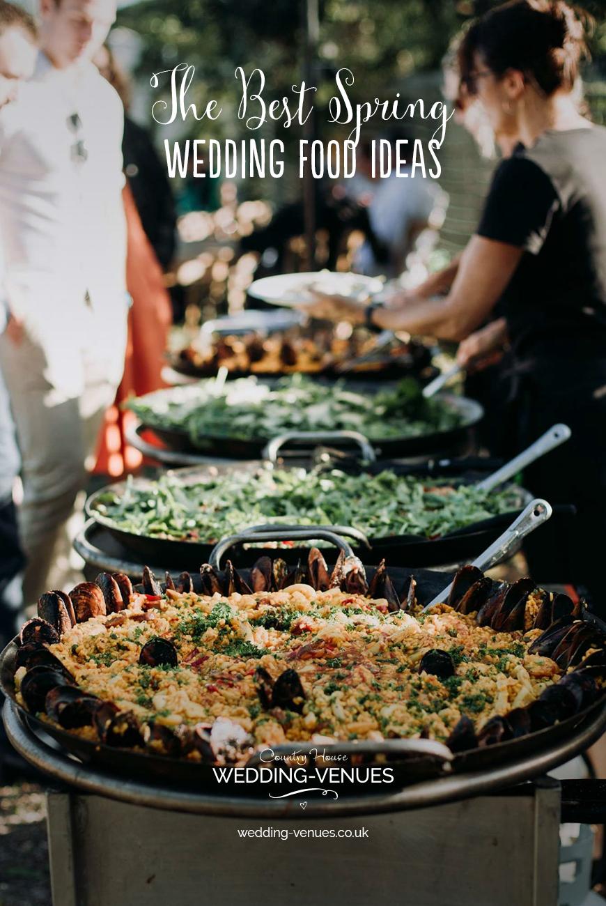 Exciting Evening Wedding Food Ideas | CHWV