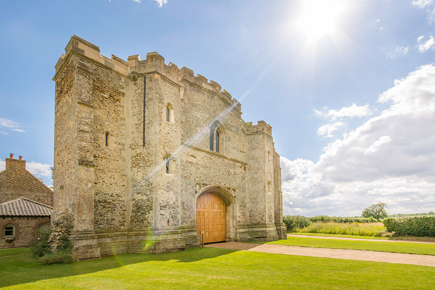 6 Fairy-Tale Wedding Venues For The Day Of Your Dreams - Pentney Abbey | CHWV