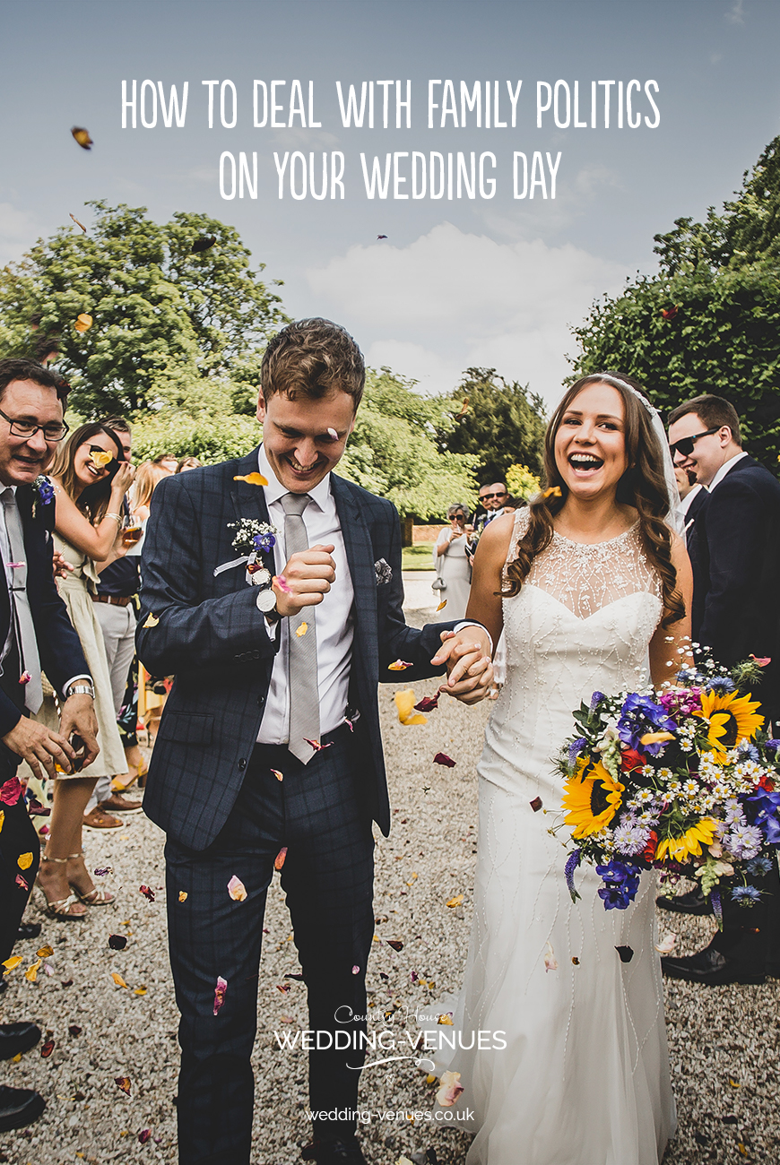 How To Deal With Family Politics On Your Wedding Day | CHWV